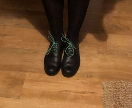 Miss Pagram green shoes