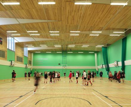 6604 Leventhorpe School Sports Centre N127 wlandscape