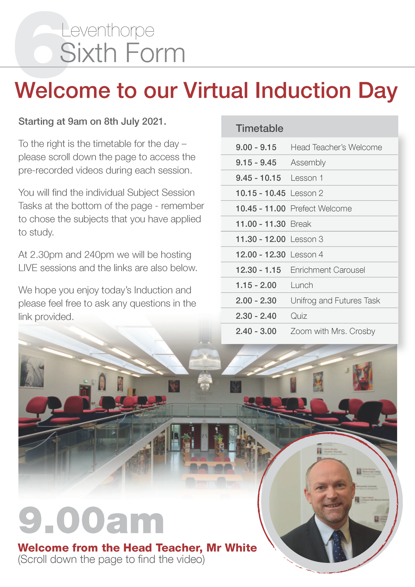 3 Guide to Induction Day Live Page 1
