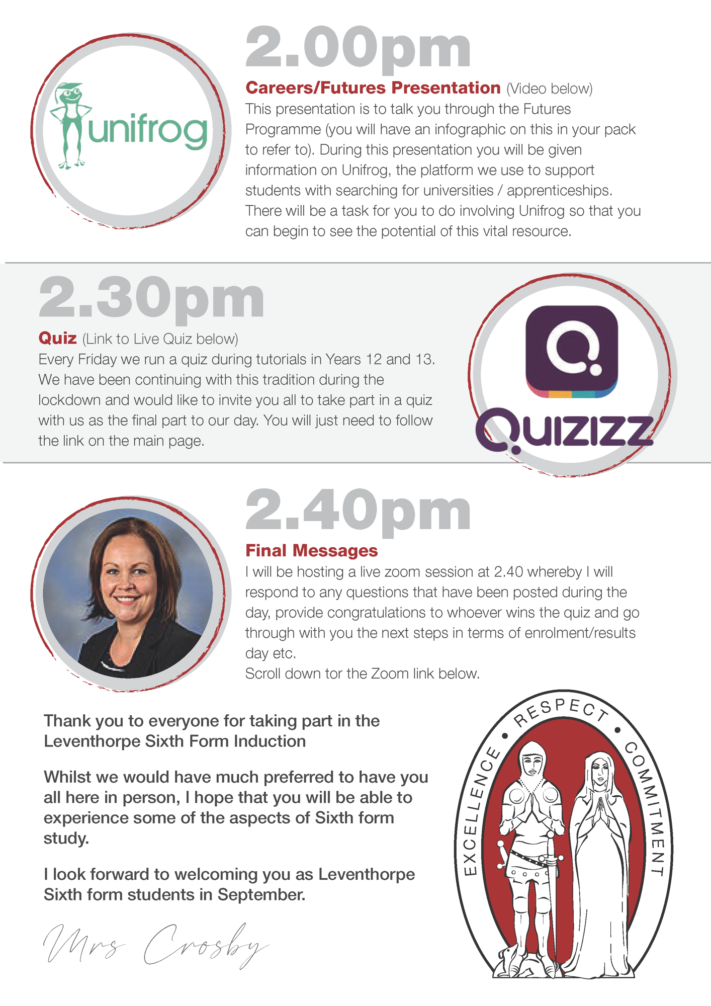 3 Guide to Induction Day Live Page 3